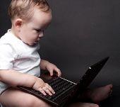 kleine Baby-computer