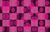 Pink Plaid Bubbles