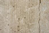 Plain Grunge Cracked Concrete Wall Background
