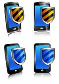 Phone Shield antivirus 3D and 2D