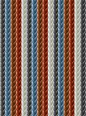 leather seamless braided plait texture vector illustration isolated on white background