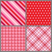 Four Valentine Patterns