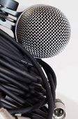 Microphone and XLR cables
