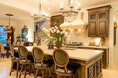 picture of asset  - Modern dining room in luxury house - JPG