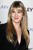 LOS ANGELES - FEB 27:  Lily Rabe arrives at the PaleyFest Icon Award 2013 at the Paley Center For Me