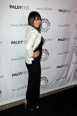 LOS ANGELES - FEB 27:  Jenna Ushkowitz arrives at the PaleyFest Icon Award 2013 at the Paley Center