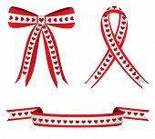 Heart Ribbons