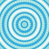 Snowflake Ring Pattern