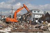 Rebuilding continues in devastated area four months after Hurricane Sandy on February, 28, 2013 in F