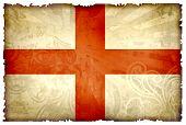 England Grunge Flag