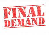 Final Demand Stamp