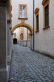 Passageway At Abbey In Melk, Austria