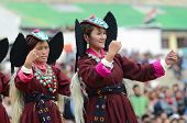 Dancers On Festival Of Ladakh Heritage