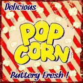 Pop Corn Vintage Poster