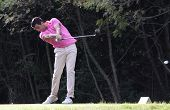 Nicolas Tacher at the golf Masters 13, 2013