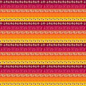 Tribal geometric striped pattern. claret, orange  color gamma