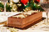 Christmas Dessert On Table