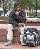 Homeless African American Man