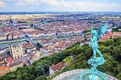 Horizontal View Of Lyon