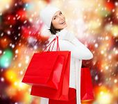 stock photo of overspending  - retail and sale concept  - JPG