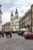 Sw Ducha Church At Dluga 3 Street, Warsaw