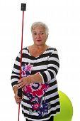 Sporty Female Senior