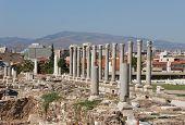 Colonnade In Agora