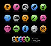 Food Icon set / The file Includes 5 color versions in different layers.