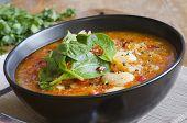 Butter Bean And Chorizo Soup