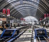 Inside The Frankfurt Central Station