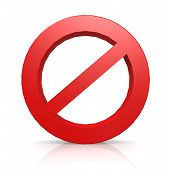 stock photo of no entry  - No entry sign image with hi - JPG