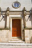 stock photo of pilaster  - Convent of SS - JPG