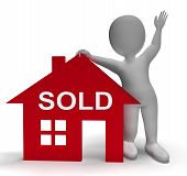 Sold House Means Successful Offer On Real Estate
