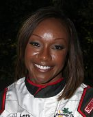 LOS ANGELES - APR 1:  Carmelita Jeter at the Toyota Grand Prix of Long Beach Pro/Celebrity Race Pres