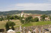 French Village In Burgundy Region