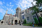 TORONTO, CANADA - JULY 3: Casa Loma exterior view on July 3, 2012 in Toronto, Canada. Built 1911-C19