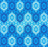 picture of ottoman  - created with traditional Ottoman motifs pattern series - JPG