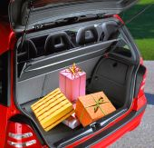 Present Boxes In A Car
