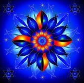 Mandala Talisman of Cosmic Energy Healing