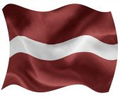 latvian national flag