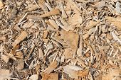 Background Of Wood Chippings