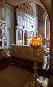 Novgorod, Russia - August 10, 2013 : Interior Of The St. Sophia Cathedral In Veliky Novgorod, Russia