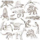 stock photo of dinosaurus  - DINOSAURS  - JPG