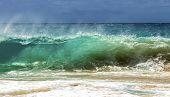 Sandy Beach Shorebreak