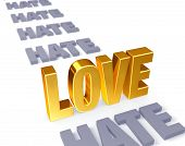 Love Stands Up To Hate
