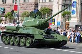 Parade Victory At Kiev, Ukraine
