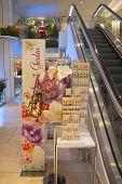 The Secret Garden theme merchandise line and flower decoration during famous Macy s Flower Show
