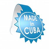 Blue Label Made In Cuba
