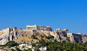 Parthenon Temple On Athenian Acropolis