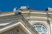 Romanian Athenaeum Roof Detail